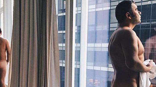 Jorge Javier Vázquez, desnudo en Nueva York