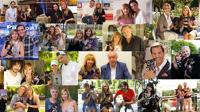 Carmen Thyssen, Los del Río, Maribel Verdú o Dani Mateo, entre los famosos que apoyan el Perrotón de Marbella