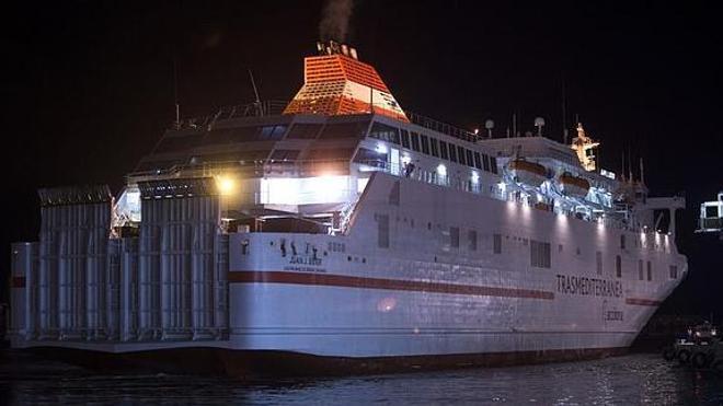 Trasmediterránea reanuda las conexiones marítimas de Melilla con Málaga