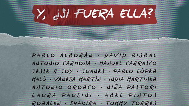 Pablo Alborán, Vanesa Martín y Pablo López, en la nueva versión de 'Y si fuera ella' de Alejandro Sanz