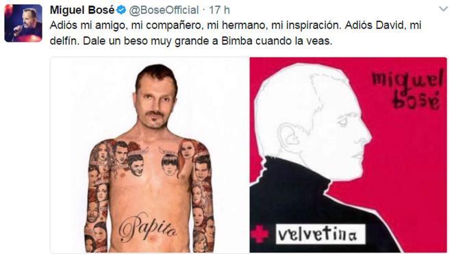 Personalidades de la moda y el espectáculo se despiden de David Delfín en las redes sociales